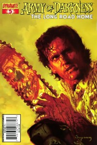 0005 131 200x300 Army Of Darkness  The Long Road Home [Dynamite] Mini 1