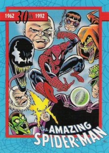 0005a 5 214x300 Amazing Spider Man 30th Anniversary 1992 [Marvel  Impel] Card Set
