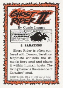 0005b 41 215x300 Ghost Rider  Series 2 1992 [Comic Images] Card Set