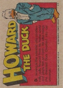0005b 53 215x300 Howard The Duck  The Movie 1986 [Topps] Card Set