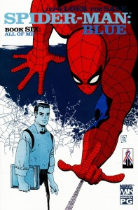 0006 1312 197x300 Spider Man  Blue [Marvel] Mini 1