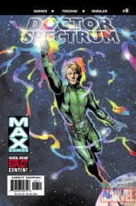 0006 405 198x300 Doctor Spectrum [Marvel Max] V1