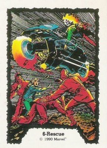 0006a 24 217x300 Ghost Rider  Series 1 1990 [Comic Images] Card Set