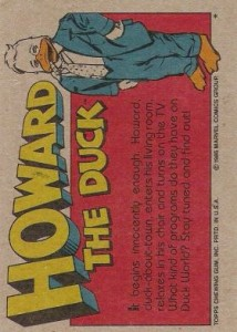 0006b 34 214x300 Howard The Duck  The Movie 1986 [Topps] Card Set