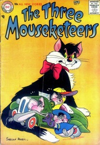0007 1148 206x300 Three Mouseketeers, The [DC] V1