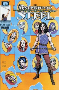 0007 986 197x300 Sisterhood Of Steel, The [Marvel Epic] V1