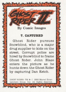 0007b 18 216x300 Ghost Rider  Series 2 1992 [Comic Images] Card Set
