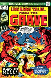 0008 1118 198x300 Uncanny Tales From The Grave [Marvel] V1