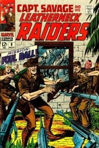 0008 196 201x300 Captain Savage and His Battlefield Raiders [Marvel] V1