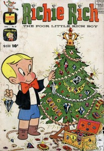 0008 837 207x300 Richie Rich  The Poor Little Rich Boy [Harvey] V1
