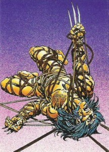 0008a 62 216x300 Wolverine  From Then Til Now II 1992 [Marvel  Comic Images] Card Set