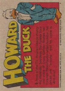 0008b 22 214x300 Howard The Duck  The Movie 1986 [Topps] Card Set
