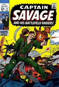 0009 176 204x300 Captain Savage and His Battlefield Raiders [Marvel] V1