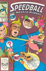 0009 845 195x300 Speedball  The Masked Marvel [Marvel] V1
