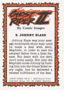 0009b 10 216x300 Ghost Rider  Series 2 1992 [Comic Images] Card Set