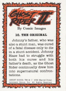 0010b 8 218x300 Ghost Rider  Series 2 1992 [Comic Images] Card Set