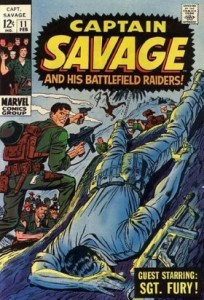 0011 155 204x300 Captain Savage and His Battlefield Raiders [Marvel] V1