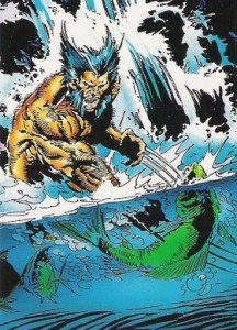 0011a 43 216x300 Wolverine  From Then Til Now II 1992 [Marvel  Comic Images] Card Set