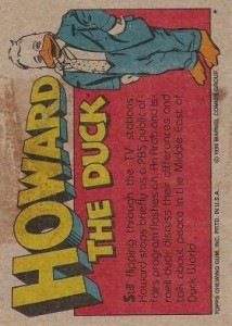 0011b 14 214x300 Howard The Duck  The Movie 1986 [Topps] Card Set