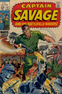 0012 144 199x300 Captain Savage and His Battlefield Raiders [Marvel] V1