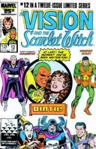 0012 797 194x300 Vison and Scarlet Witch [Marvel] Mini 1