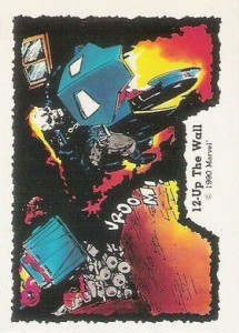 0012a 11 215x300 Ghost Rider  Series 1 1990 [Comic Images] Card Set
