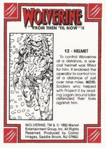 0012b 43 214x300 Wolverine  From Then Til Now II 1992 [Marvel  Comic Images] Card Set