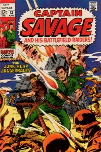 0013 125 199x300 Captain Savage and His Battlefield Raiders [Marvel] V1