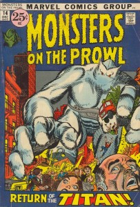 0014 405 203x300 Monsters On The Prowl [Marvel] V1