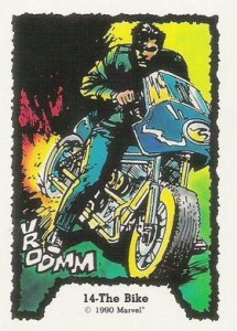 0014a 5 215x300 Ghost Rider  Series 1 1990 [Comic Images] Card Set
