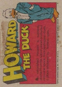 0014b 8 214x300 Howard The Duck  The Movie 1986 [Topps] Card Set