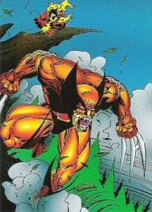 0015a 35 216x300 Wolverine  From Then Til Now II 1992 [Marvel  Comic Images] Card Set