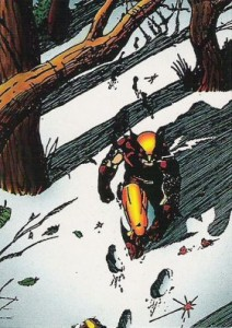 0016a 34 212x300 Wolverine  From Then Til Now II 1992 [Marvel  Comic Images] Card Set