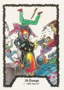 0016a 5 214x300 Ghost Rider  Series 1 1990 [Comic Images] Card Set