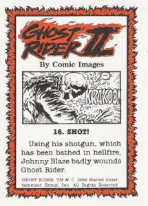 0016b 4 215x300 Ghost Rider  Series 2 1992 [Comic Images] Card Set