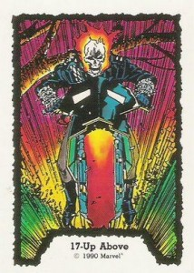 0017a 8 214x300 Ghost Rider  Series 1 1990 [Comic Images] Card Set