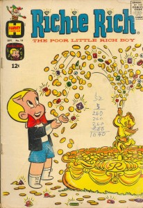 0019 393 206x300 Richie Rich  The Poor Little Rich Boy [Harvey] V1