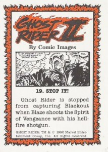 0019b 4 214x300 Ghost Rider  Series 2 1992 [Comic Images] Card Set