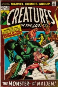 0020 112 200x300 Creatures on the Loose [Marvel] V1