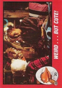 0020a 10 214x300 Howard The Duck  The Movie 1986 [Topps] Card Set
