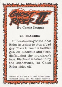 0020b 5 215x300 Ghost Rider  Series 2 1992 [Comic Images] Card Set