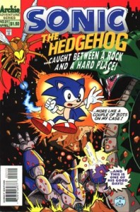 0021 363 198x300 Sonic  The Hedgehog [Archie Adventure] V1