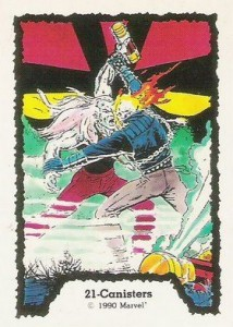 0021a 7 214x300 Ghost Rider  Series 1 1990 [Comic Images] Card Set