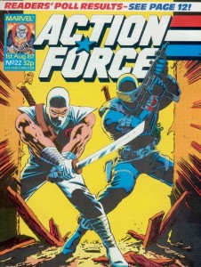 0022 10 226x300 Action Force [Marvel UK] V1