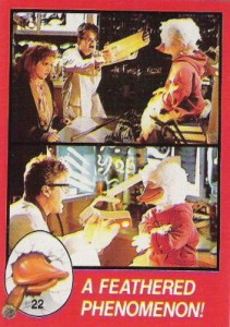 0022a 8 211x300 Howard The Duck  The Movie 1986 [Topps] Card Set
