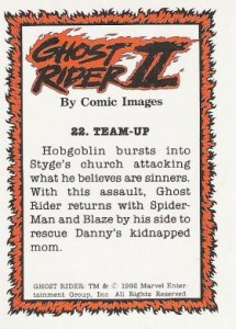 0022b 4 215x300 Ghost Rider  Series 2 1992 [Comic Images] Card Set