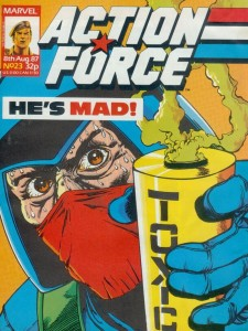 0023 8 225x300 Action Force [Marvel UK] V1
