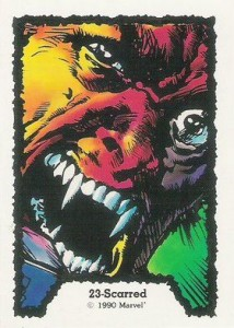 0023a 5 214x300 Ghost Rider  Series 1 1990 [Comic Images] Card Set