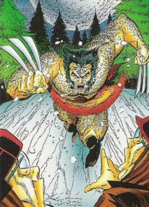 0024a 31 216x300 Wolverine  From Then Til Now II 1992 [Marvel  Comic Images] Card Set