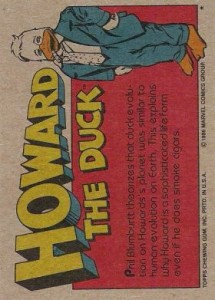 0024b 8 215x300 Howard The Duck  The Movie 1986 [Topps] Card Set
